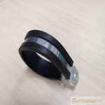 High quality Rubber Lined Supporting Pipe Hose Clamp