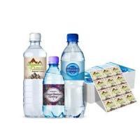 China custom vinyl stickers mineral plastic water bottle label manufacturer on sale