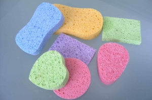 China Daily Consumables Compressed Cellulosed Sponge for Facial cleaning on sale