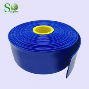 China PVC Lay Flat Discharge Hose on sale