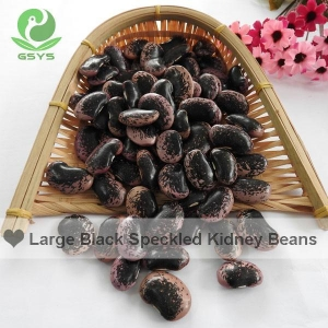 China beans and pulses large-black-speckled-kidney-beans on sale
