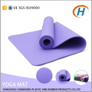 China High Quality Fitness Eco-friendly TPE Yoga Mat on sale