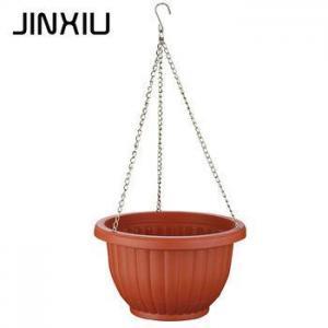China Plastic garden hanging planter nursery flower pots on sale