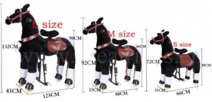 China Small size pony rides on sale