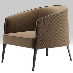 China Furniture PU Leather Lounge Chair for Hotel Projects on sale