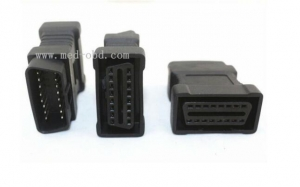 China OBD2 Male to Female 16Pin Adapter on sale