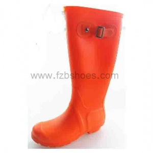 China PV138 008Women Rain Boots England Light knee High Rain Boots Water Shoes Fall Boots Black on sale