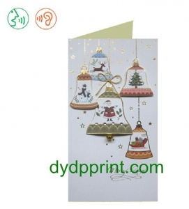 China Greeting cards music cards on sale