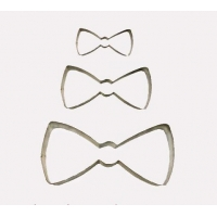 Clothing cookie cutters Bow Tie CookieCutter