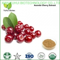 China natural acerola cherry extract powder,dried cherry powder, cherry powder on sale