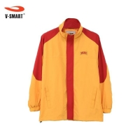 Red Yellow Jacket Windbreaker