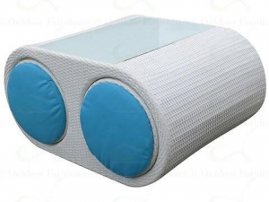 China Swivel Outdoor Furniture Small Balcony Furniture Rattan Swivel Chairs on sale
