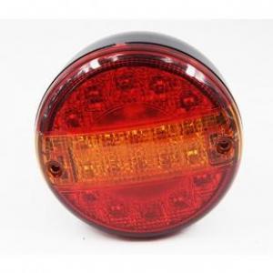 China Led Tail Light Round LED Trailer Tail Light - 4 LED Stop Turn Tail Light with 20 LEDs on sale