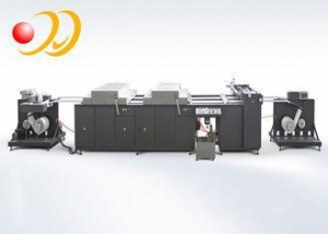 China CE UV Spot Coating Machine For Web Paper / Web Plastic Film on sale