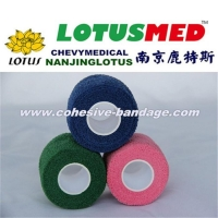 China Non-woven Elastic Self Cohesive Bandage