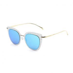China Retro Cutout Cateye Sunglasses on sale