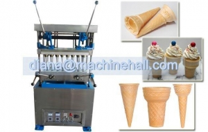 China Commercial Ice Cream Cone Machine for Sale 24 Mould on sale