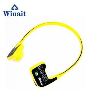 China Winait newest waterproof 8GB MP3 bone conduction headphone on sale