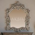 China Wall Decor Style no. M365 Mother of pearl Syrian Mirror on sale