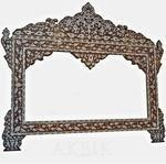 China Wall Decor Style no. M267 - Mother of pearl mirror. on sale