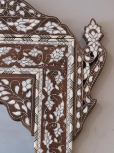 China Wall Decor Style no. M074 - Landscape mother of pearl mirror on sale