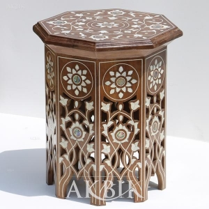China Tables Style no. T126 - Mother of pearl end table on sale