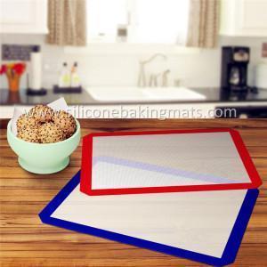 China Professional Silicone Non-Stick Baking Mat 2 pcs/set on sale