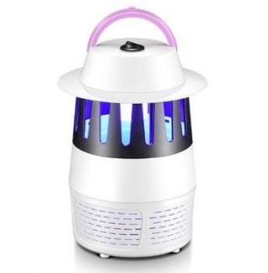 China Indoor Solar mosquito killer UV and suction lamp on sale