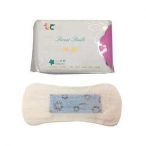 China Disposable sanitary napkin free panty liner samples for ladies on sale