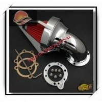 Motorcycle Parts Triangle Spike Air Cleaner Intake For Harley Cv