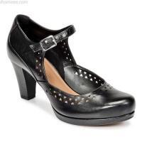 shoes series Clarks CHORUS CHIME Schwarz - Schuhe Pumps Damen