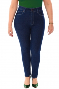 China Filter 360 Stretch High Rise Ultra Skinny Denim Jeans (Jeggings) in Blue Depths on sale