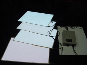 China EL products el backlight paper in el products on sale