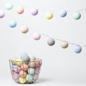 China 4CM Diameter Colored Cotton Balls Light on sale