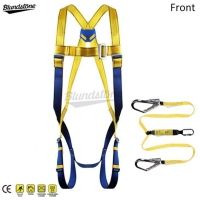China Safety Harness Fall Protection with Lanyard on sale