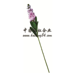 China Artificial violet flower stem spray on sale