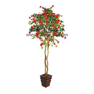 China (Indoor & Outdoor) artificial bougainvillea flowering Tree on sale
