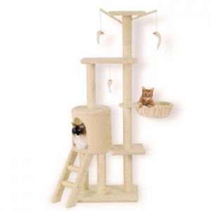 China Cat Tree Scratcher Play House Condo Furniture Bed Post Pet House on sale