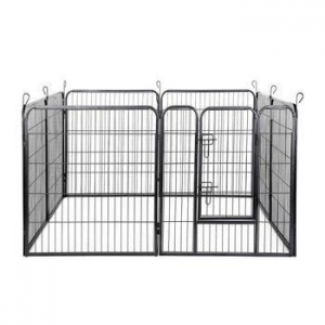 China High Quality Metal outdoor dog fence pet wire mesh pallet steel cage on sale