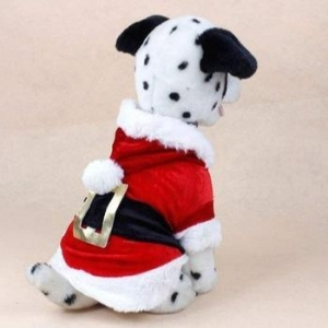 China New Santa Dog Costume Christmas Pet Clothes Winter Hoodie Coat Clothes for Dog Pet Clothing on sale