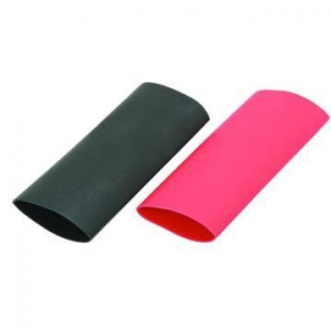 China Black 15mm Heat Shrink Tube For Automotive Fuel Line on sale