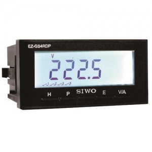 China Single-phase Intelligent Ammeter Voltmeter Power Meter Energy Meter on sale