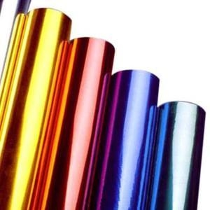 China Hot Stamping Foil for Plastics Glass Metallic Products on sale