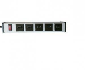 China Safety Smart 5 Port 2.0 Usb Charging Power Bar Fast Charging AU / EU / UK / US Plug on sale