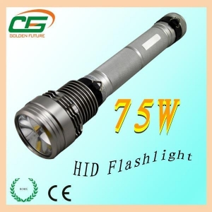 China GT-02 long light distance rechargeable HID flashlight on sale
