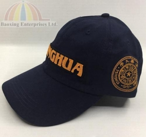 China Baseball cap applique embroidery sport base ball caps on sale