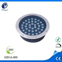 China Led Inground Light Path lighting DC12V 24W led ground lights on sale