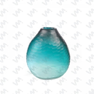 China MCV-082 Chinese Blue and White Porcelain Glass Vas on sale