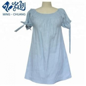 China korean style woman clothing antique washing denim clothes custom made autumn free on sale