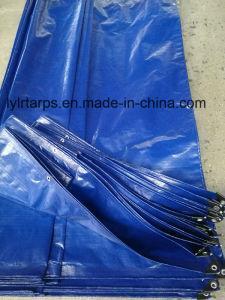 China Finished Blue PE Tarpaulin Sheet, Tarpaulin Cover on sale